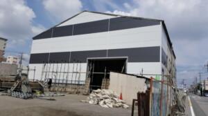 倉庫の外壁塗装